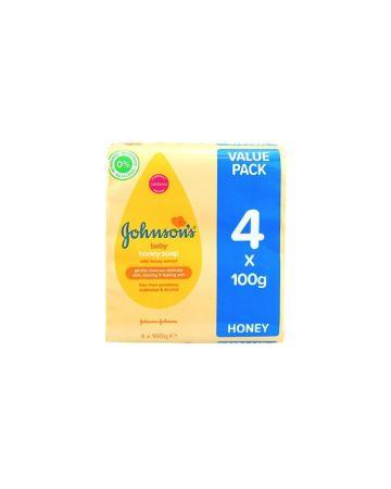 Johnson's Baby Soap Honey 100g