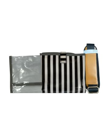 Striped Baby Changing Bag