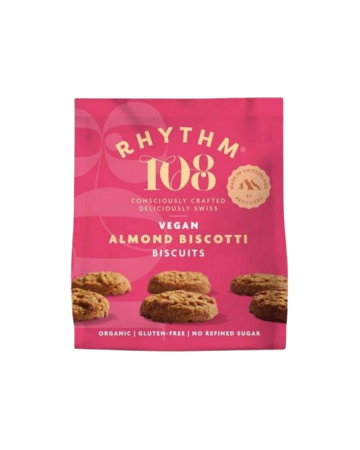 Rhythm108 Organic Tea Biscuit - Almond Biscotti Sharing Bag