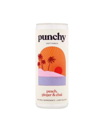Punchy Drinks Peach, Ginger & Chai Spice