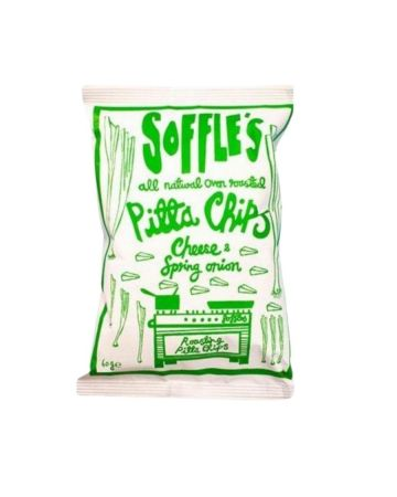 Soffle's Pitta Chips Cheese & Spring Onion