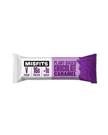 Misfits Plant Based Chocolate Caramel Protein Bar