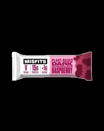 Misfits Plant Based Chocolate Raspberry Protein Bar