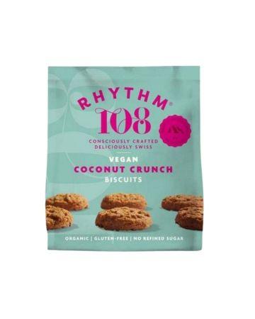 Rhythm108 Organic Tea Biscuit - Coconut Cookie Sharing Bag