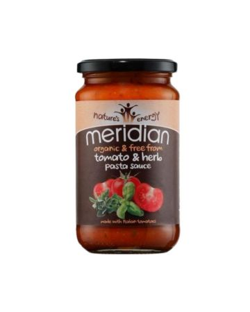 Meridian Organic Tomato And Herb Pasta Sauce