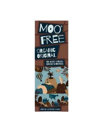 Moo Free Marvellously Moreish Organic Original Cocoa Bar