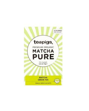 Teapigs Organic Matcha Green Tea Sachets