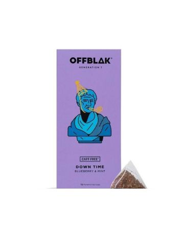 Offblak Down Time Blueberry & Mint Flavour Infused Herbal Tea
