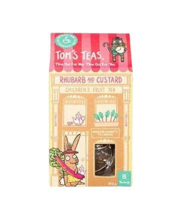 Tom's Teas Rhubarb And Custard Children's Fruit Tea
