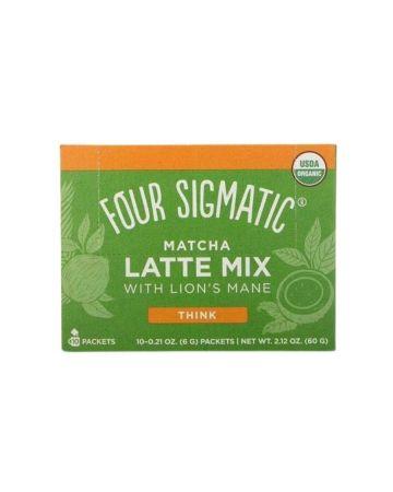 Four Sigmatic Mushroom Matcha Latte With Lion's Mane