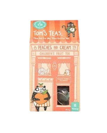 Tom's Teas Peaches And Cream Children's Fruit Tea