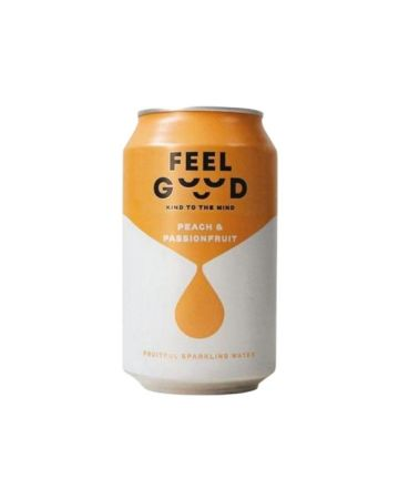 Feel Good Peach And Passionfruit Fruitful Sparkling Water
