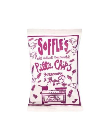 Soffle's Pitta Chips Rosemary And Thyme