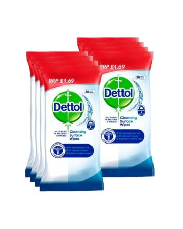 Dettol Cleansing Surface Wipes 30s (pm £1.69)