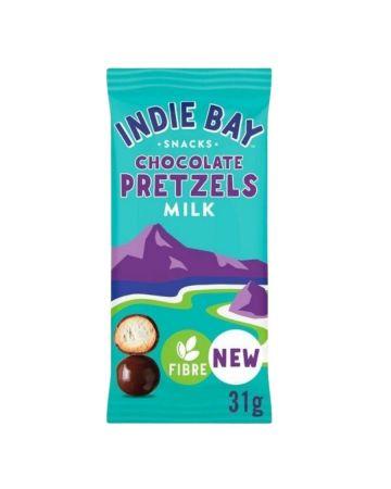 Indie Bay Milk Chocolate Coated Pretzel Bites