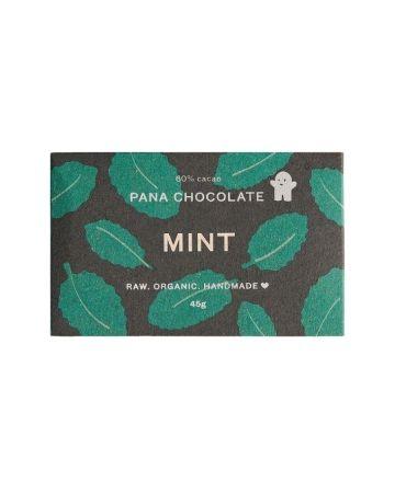 Pana Organic Mint Chocolate Bar