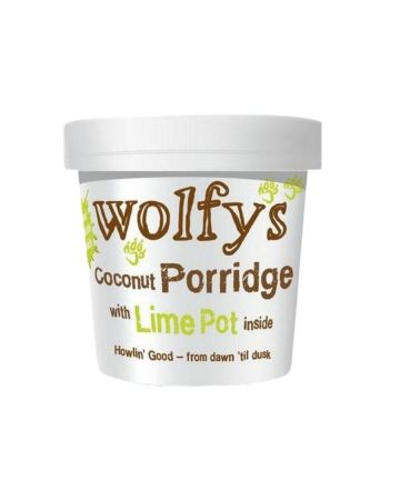 Wolfys Coconut Porridge With Lime Pot