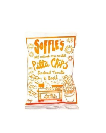 Soffle's Pitta Chips Sundried Tomato