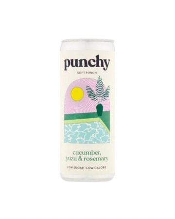 Punchy Drinks Yuzu, Cucumber & Rosemary