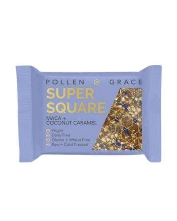 Pollen + Grace Maca + Coconut Caramel Super Square
