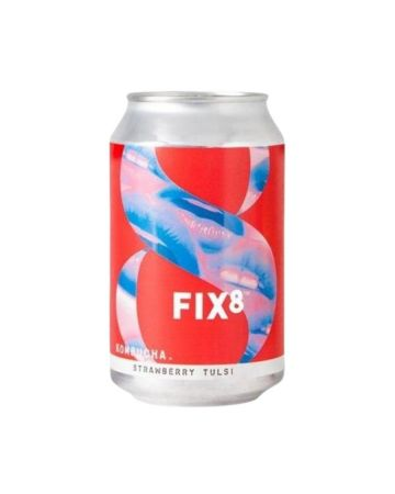 Fix8 Kombucha Strawberry Tulsi