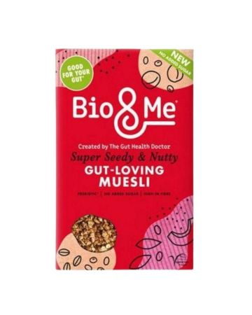 Bio&me Super Seedy & Nutty Gut-loving Muesli