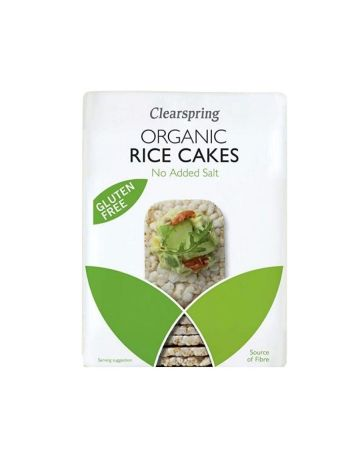 Clearspring Organic Rice Cakes No Added Salt