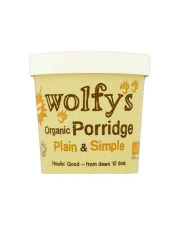 Wolfy's Organic Plain & Simple Porridge