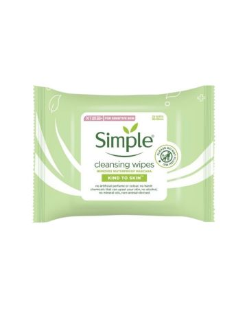 Simple Cleansing Facial Wipes 25s
