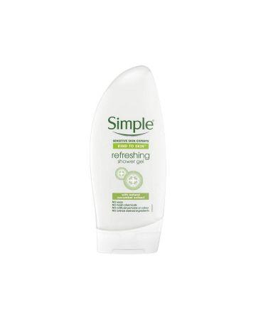 Simple Shower Gel Refreshing 250ml