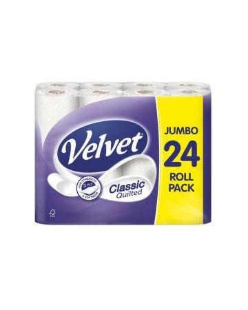 Velvet Comfort Toilet Roll 24s