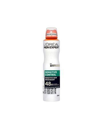 L'Oreal Men Expert Sensitive Control 48H Deodorant 250ml