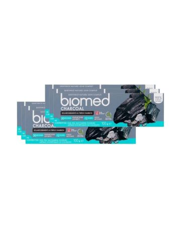 Biomed Toothpaste Natural Charcoal 75ml