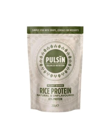 Pulsin Natural & Unflavoured Rice Protein Powder