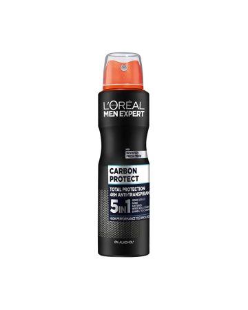 L'Oreal Men Expert Carbon Protect 5 In 1 Anti-Perspirant Deodorant 250ml