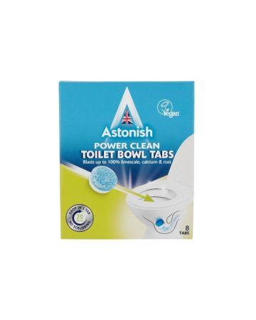 Astonish Power Clean Toilet Bowl Tabs 8's