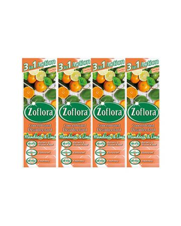 Zoflora Disinfectant Mandarin And Lime 250ml