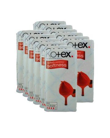 Kotex Maxi Super 14's (pm £1.15)