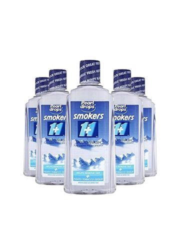 Pearl Drop Smokers Mouthwash Clear 400 Ml