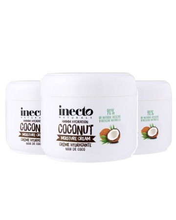 Inecto Naturals Moisture Cream Coconut 250 Ml