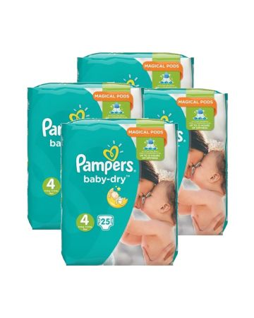 Pampers Baby Dry Maxi Size 4 25s