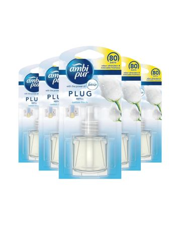 Ambi-pur Plug Refill Cotton Fresh 20ml