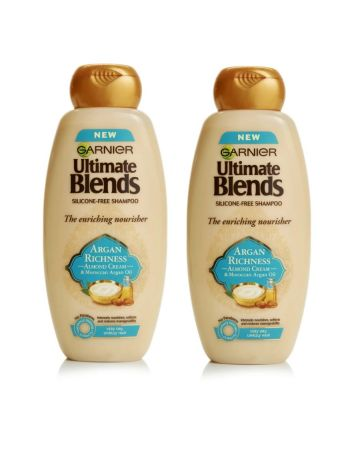 Garnier Ultimate Blends Shampoo Argan Oil & Almond Cream 360ml