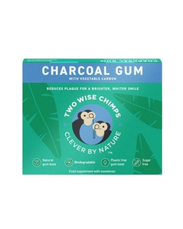 Two Wise Chimps Charcoal Gum