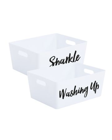 Sparkle And Washing Up Storage Box