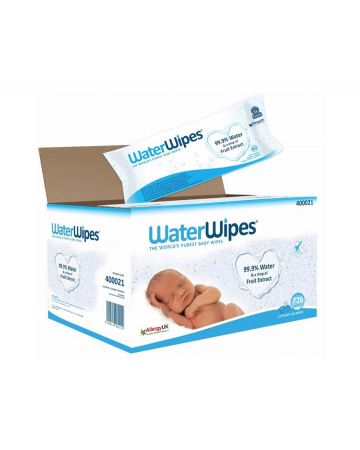 Waterwipes Baby Wipes 12 X 60s