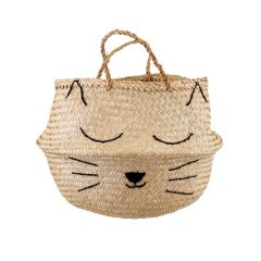 Sass & Belle Seagrass Cat's Whiskers Storage Basket